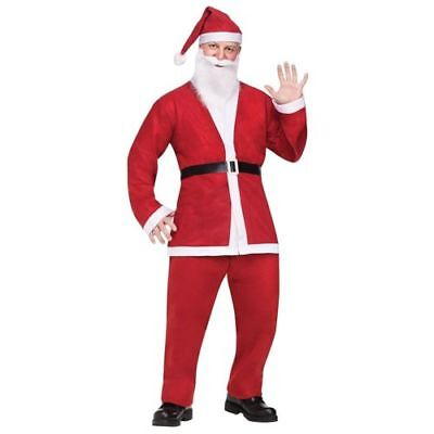 NEW Santa Pub Crawl Costume CHRISTMAS HOLIDAY RED ADULT FREE SHIPPING  (Pub Crawl Santa Costume)