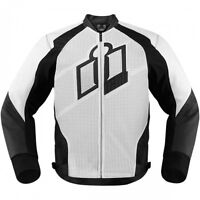 ICON HYPERSPORT LEATHER JACKET/JAQUETTE DE MOTO ICON CUIR