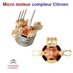 micro moteur compteur citroen berlingo c5 evasion jauge carburant ou temperature ebay. Black Bedroom Furniture Sets. Home Design Ideas