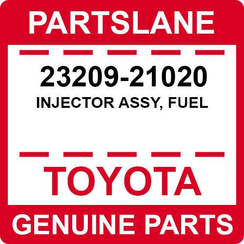 23209-21020 Toyota Oem Genuine Injector Assy, Fuel