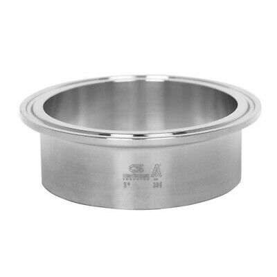 Sanitary Stainless Steel Long Ferrule Tri-clamp Fitting 3 304