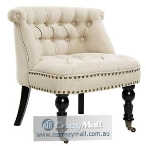French Provincial Linen Fabric Sofa Lorraine Chair All Colors Mosman Mosman Area Preview