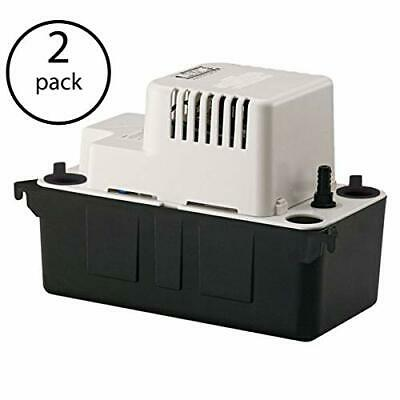 Little Giant Vcma-20uls 12 Abs Gallon Tank Condensate Removal Pump 2 Pack