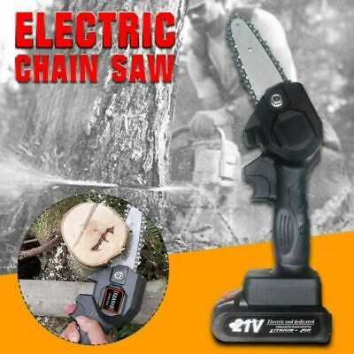 550W Woodworking Electric Chain Saw Handheld Rechargeable Mini Chain Saw Garden
