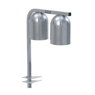 Nemco 6004-2 Double Bulb Clamp On Infrared Bulb Food Warmer