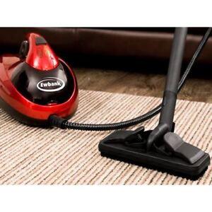 EWBANK STEAM DYNAMO MULTI-TOOL STEAM CLEANER FLOOR CARPET RUGS WINDOWS CAR RED