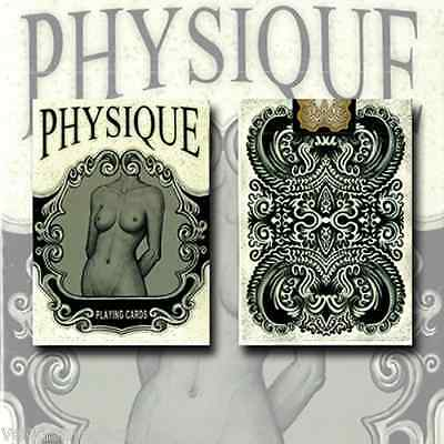 Physique Playing Cards Poker Size Deck USPCC Limited Edition New Sealed Artistic