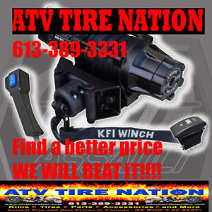 KFI TIGER TAIL TOW SYSTEM Canada at ATV TIRE NATION