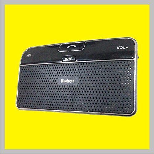 Hands-free Wireless Bluetooth Speakerphone CarKit Sun Visor for all cellphones
