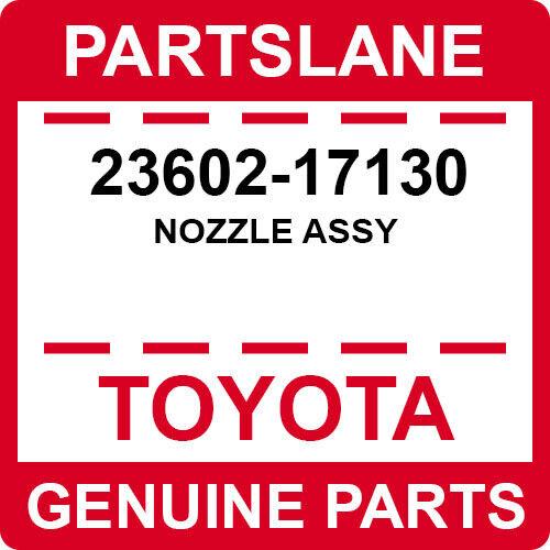 23602-17130 Toyota Oem Genuine Nozzle Assy