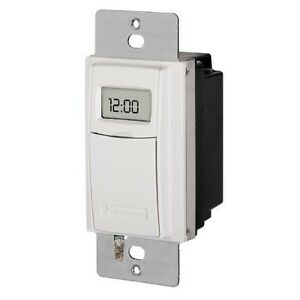 Digital-In-Wall-Timer-ST01C-White-Intermatic-SS8-REPLAC