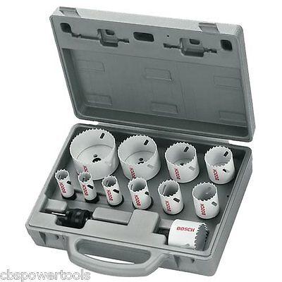 Bosch 14 Piece Progressor Holesaw Set 2608584667 19mm - 76mm & HSS Pilot Drills