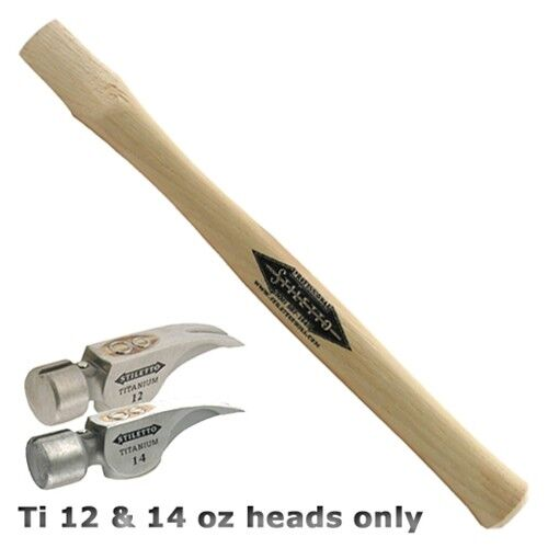 """Stiletto STLHDL-S 18"""" Straight Hickory Replacement Handle"""
