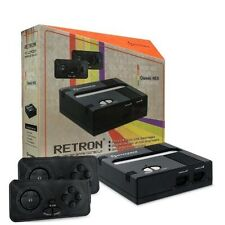 Retron 1 NES System Top Loader BLACK + 2 Controllers Nintendo Console ✔✔NEW ✔✔