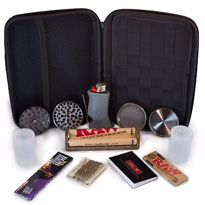 Perfect Pregame Premium Smoker's Kit - Accessories and Carrying Case -