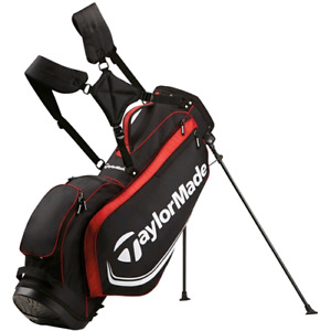 L00K! Taylormade Golf Stand Bag 4.0 - Black/Red