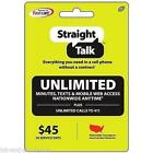 Straight Talk Refill 45