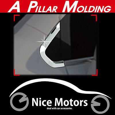 Chrome A Pillar Molding 2Pcs 1Set For Chevrolet Trax 2013 2016