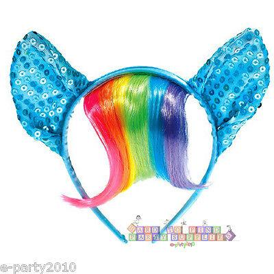 MY LITTLE PONY DELUXE HEADBAND ~ Birthday Party Supplies Rainbow Dash Favors