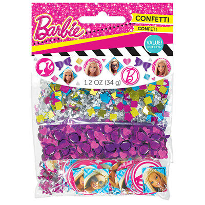 BARBIE Sparkle CONFETTI VALUE PACK (3 types) ~Birthday Party Supplies Decoration](Barbie Birthday Decorations)