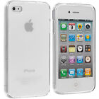 Silicone/Gel/Rubber Fitted Cases for iPhone 4s