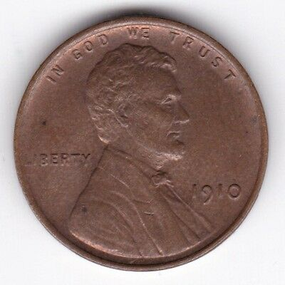 1910 U.S.A. Lincoln Wheat Cent | Pennies2Pounds