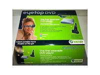 """Portable DVD Movie player. Your own personal 50"""" Screen"""