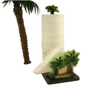 3d Palm Tree Paper Towel Napkin Holder Kitchen Decor Bar