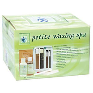 Clean + Easy Professional Waxing Spa Petite Kit, 11 Count w/ warmer unit.