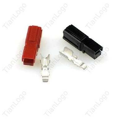 5 Pairs Connectors Anderson Powerpole 45 Amp Pole Red Black Ideal For Dc Power