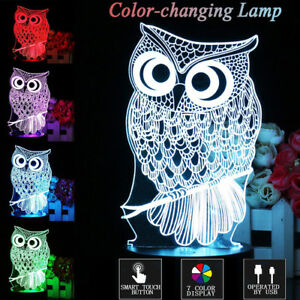 Variety of 3D color changing lamps 100% NEW