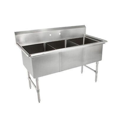 John Boos 3b18244 Three Compartment Sink