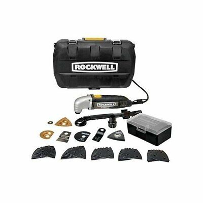 Rockwell Rk5106k Sonicrafter 39 Piece Variable Speed Kit Oscillating Tool Kit