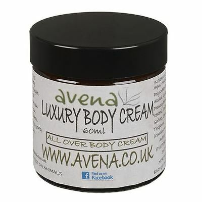 Luxury Body Cream. All Over Body Treatment With Natural Essential Oils 60ml (All Over Body Treatments)