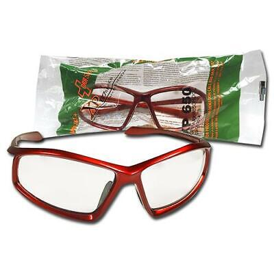 Orr Safety Glasses Xp 87 Series Protective Eyewear Clear Lenses Xp650 Red Frame