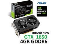 ASUS GTX 1650 4gb Graphics card NEW