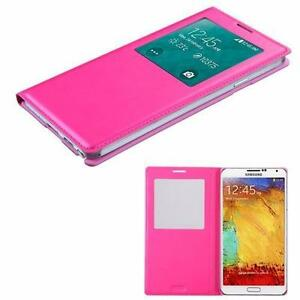 Samsung Note 3 for Bell, White phone Pink case for Bell