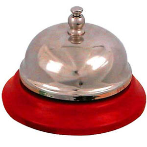 New-Reception-Desktop-Bell-Traditional-all-Metal-8cm