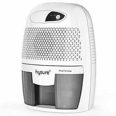 Hysure Portable Mini Dehumidifier 2200 Cubic Ft 500ml Electric Safe