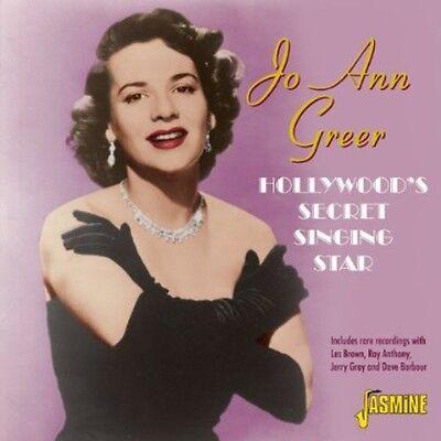 Jo Ann Greer   Hollywoods Secret Sin  New Cd