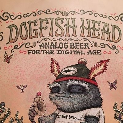 Art Craft Store (DOGFISH HEAD CRAFT BREWERY RSD Record Store Day MARQ SPUSTA Artwork ART POSTER)