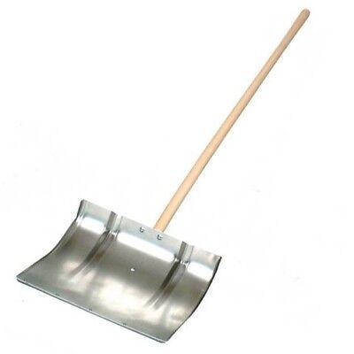 Chelwood Aluminium Snow Shovel Quality Stainless Steel Reinforced 45cm x 45cm