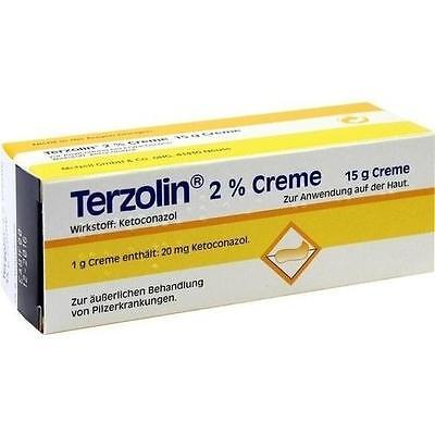 TERZOLIN Creme 15g PZN 7242396