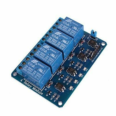 Usa 1 Pc 5 Vdc 4-channel Relay Module Arduino Compatible Ttl Input Nice