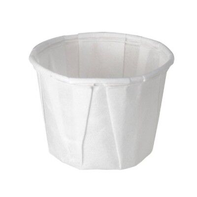 Solo 050-2050 0.5 oz Treated Paper Portion Cup (Case of 5000) ()