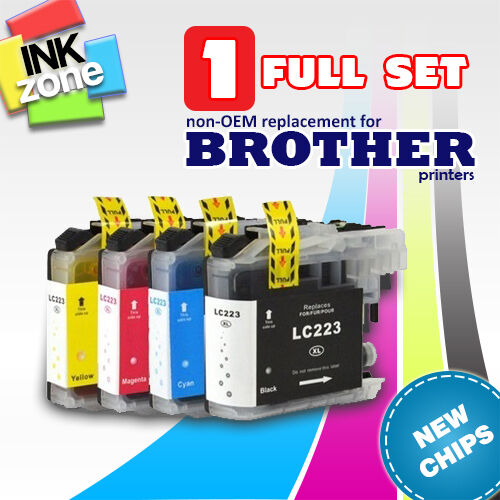 Full Set of non-OEM Inks for BROTHER MFC J4425DW J4620DW J4625DW J5320DW J5620DW