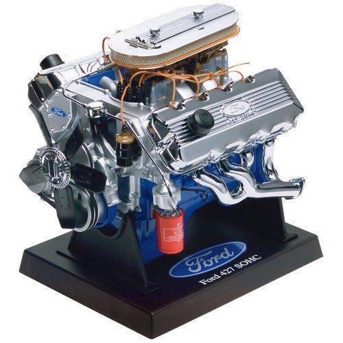 Model Car With Engine: Ford 427 SOHC Engine