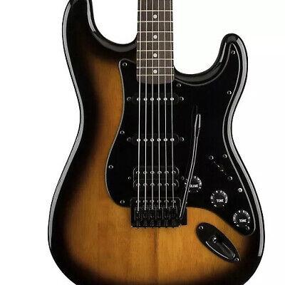 Fender Squier Bullet Stratocaster HSS Blackout Limited Edition Sunburst Last One