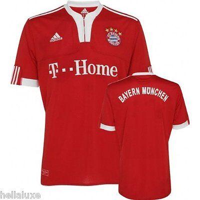 016a9b278 BN~Adidas FC BAYERN MUNICH Germany Soccer football Munchen Jersey shirt~Men  sz L