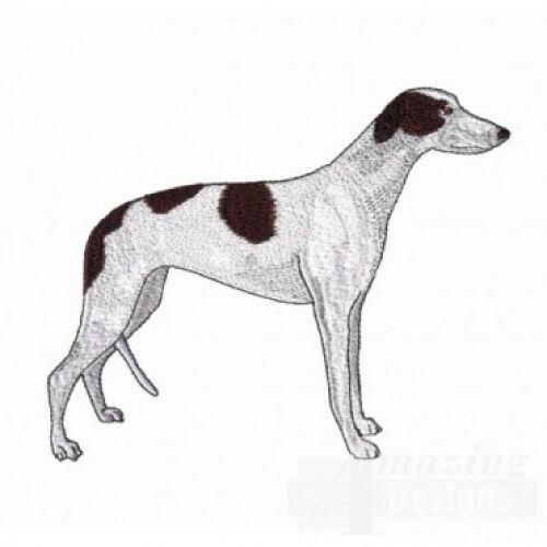 Embroidered Ladies Fleece Jacket - Greyhound AD213  Sizes S - XXL